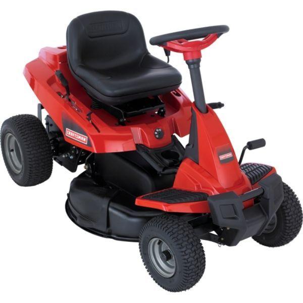 Craftsman 30 In Smart Rider Rear Engine Riding Lawn Mower