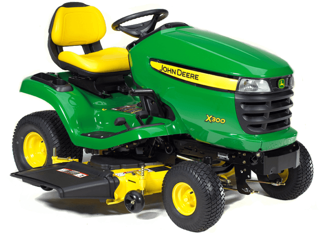 2012 John Deere X300 48x 48in 18 5hp Hydro Review