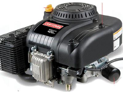 Craftsman Mtd Troy Bilt 420cc Engine Drain Plug Removal