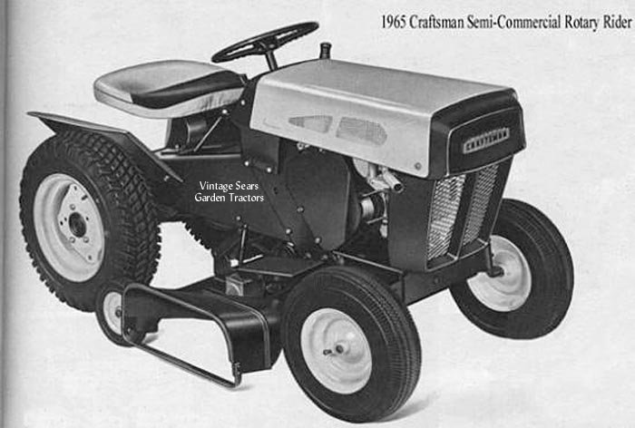 History Of Craftsman Tractors 1946 2013 Todaysmower Com