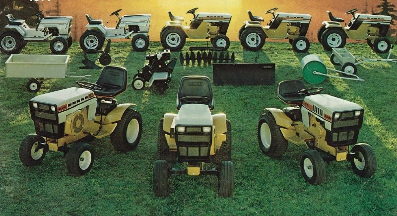 Sears Craftsman Lawn Tractor Attachments : History of craftsman tractors  todaysmower