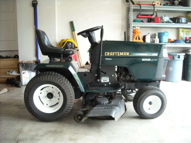 P also  in addition Am G Ww furthermore R A X Power Flow S likewise Hqdefault. on craftsman 54 inch lawn tractor