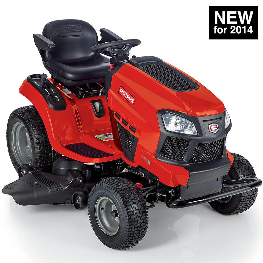 2014 craftsman g5100 model 20401 48 in 24 hp garden for Sears craftsman