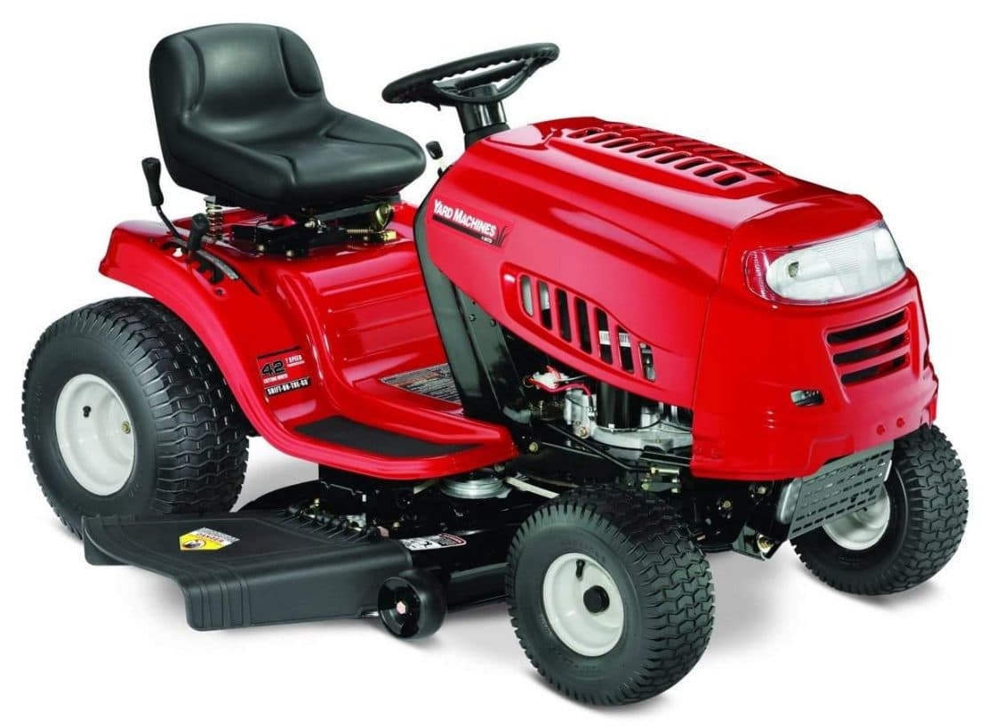 2011 Yard Machines Lawn Tractor 38 Inch 13 5 Hp Model