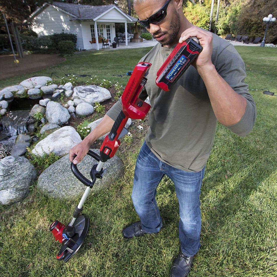 Power Lines In Backyard: Toro's New PowerPlex 40V Max Yard Tools!