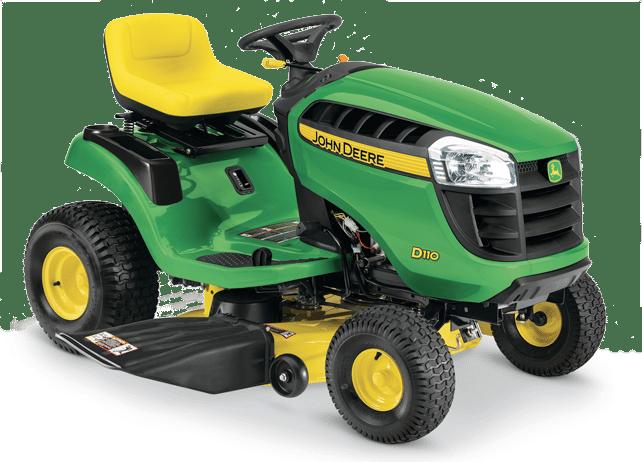 2017 John Deere D100 Series Lawn Tractors At The Home