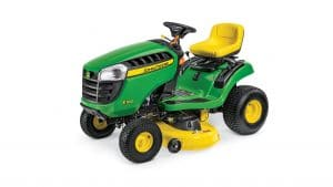 2018 John Deere E100 Series Lawn Tractor Review - MyCountryAcre