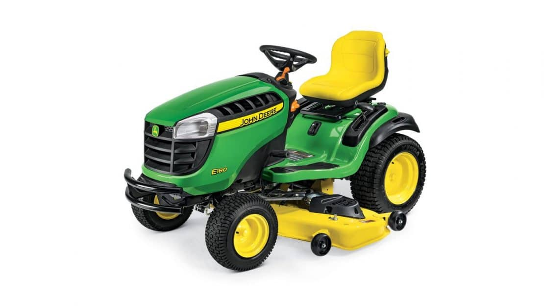 Which New 2018 John Deere E100 Series Lawn Tractor Is